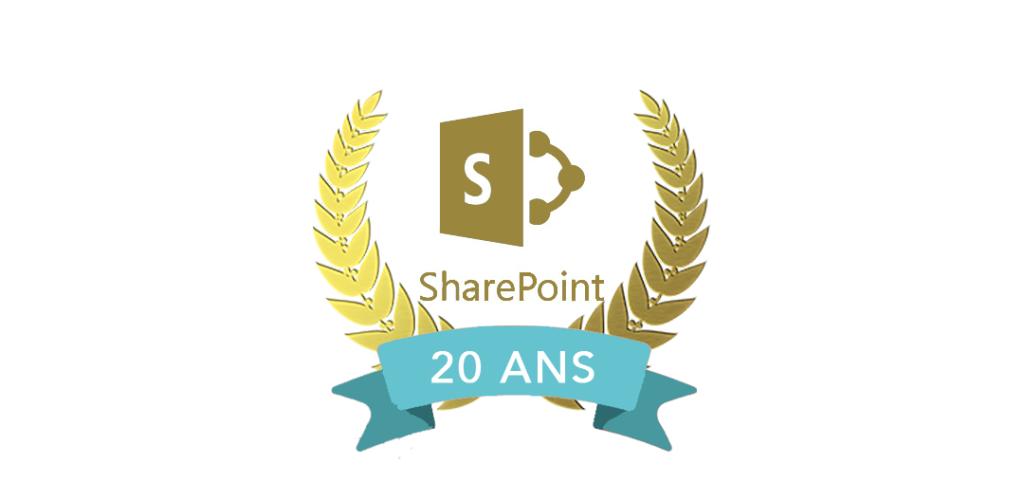SharePoint à 20 ans…
